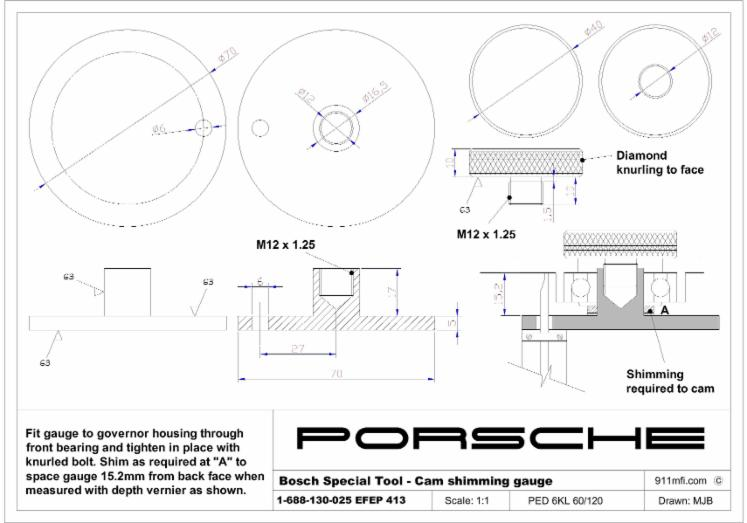 Technical Drawings - The Home of the DIY Step-by-Step Porsche 911 Guide